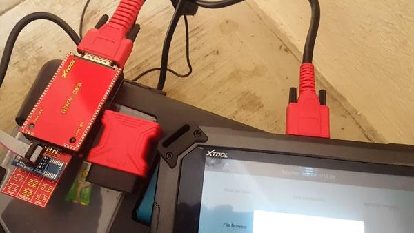 XTOOL X100 Pad2 Read Peugeot 206 BSI Pin Code Test Report