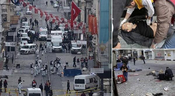 Lagi Bom Istanbul, Lukai Sejumlah warga Israel