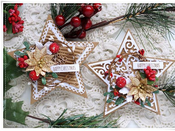 Christmas Star Gift Tags / Świąteczne Tagi Gwiazdki