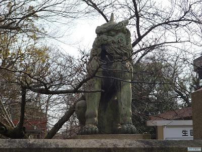 生國魂神社狛犬