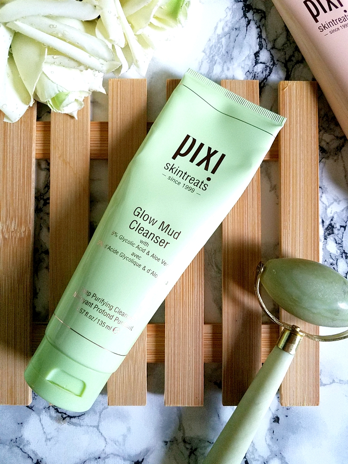 Review: pixi Skintreats - Glow Mud Cleanser Deep Purifying Cleanser with 5% Gylcolic Acid & Aloe Vera - Madame Keke Luxury Beauty & Lifestyle Blog