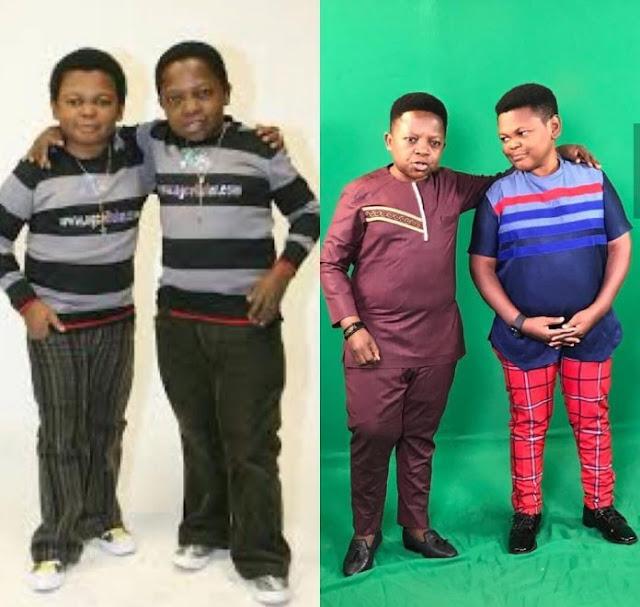 Nigerian Actors, Osita Iheme and Chinedu Ikedieze throwback photo, 10 years challenge