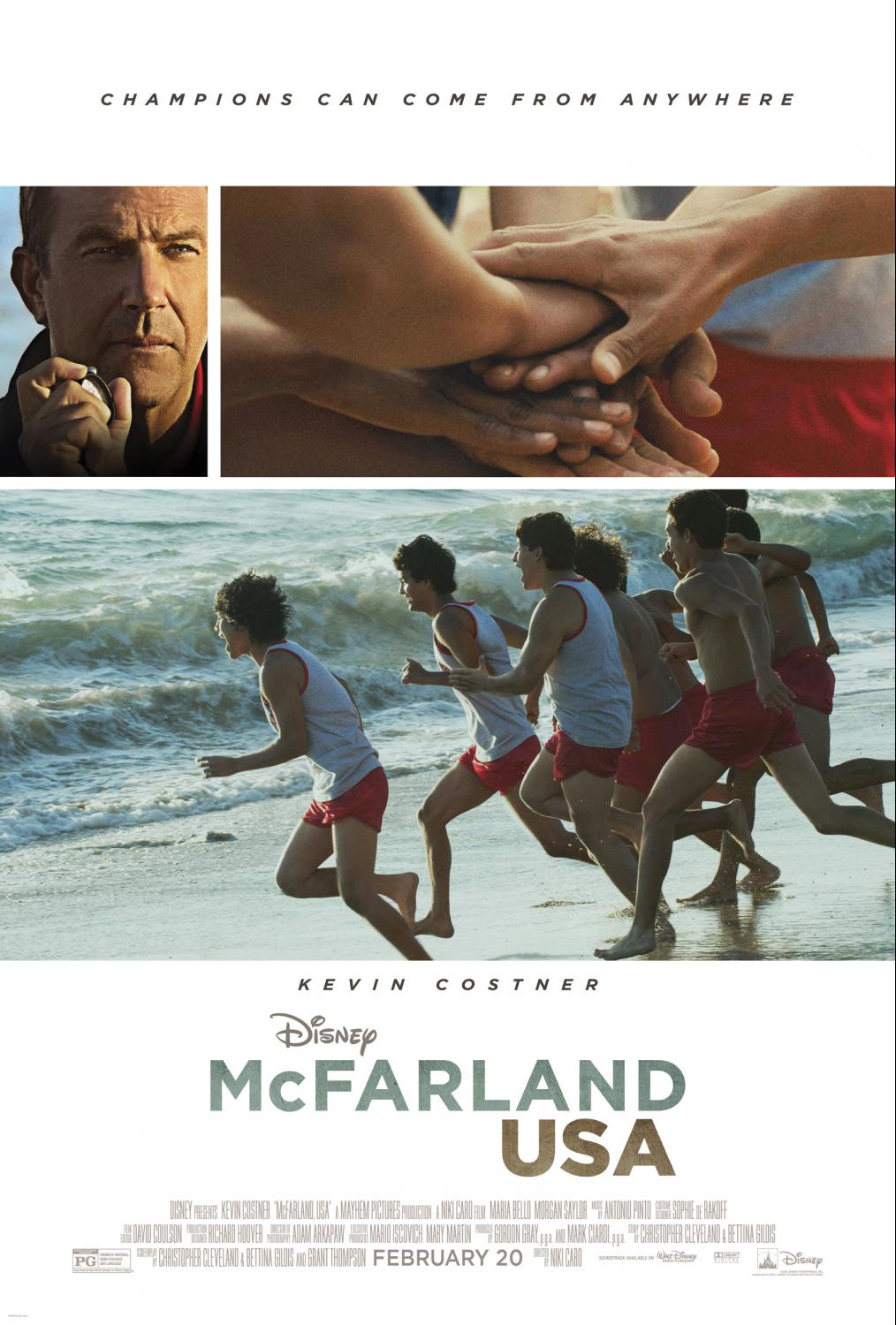 Poster MCFARLAND, USA Opens February 20, 2015!