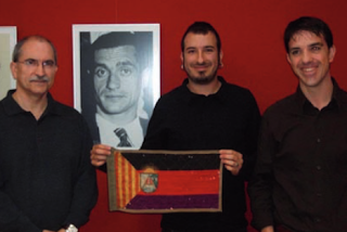 AGUSTÍN MARTÍN, RUBÉN MARTÍNEZ Y AMADEO BARCELÓ. CASPE 19 DE NOVIEMBRE DE 2011.