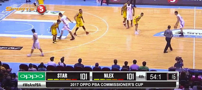 Star Hotshots def. NLEX, 105-103 (REPLAY VIDEO) March 31
