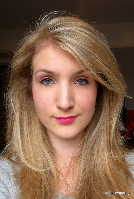 Laurenlovesmakeup Xoxo Primark Pound Fashion Nails: Spring Romance Makeup Look