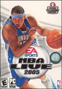 bajar gratis NBA Live 2005 PC Full Español 1 link mega iso