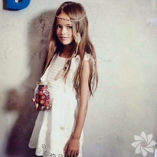 Dünyanın en güzel çocuğu Kristina Pimenova son haline