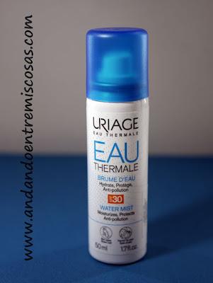 Bruma de agua SPF30 de Uriage