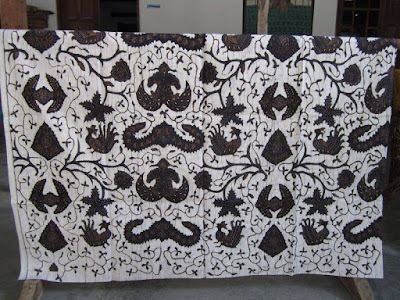 Sarimbit batik  kesamaan motif