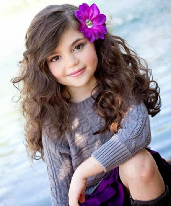 Tremendous Kids Girls Long Hairstyles 2015 New Kids Hair Medium Hair Small Short Hairstyles Gunalazisus