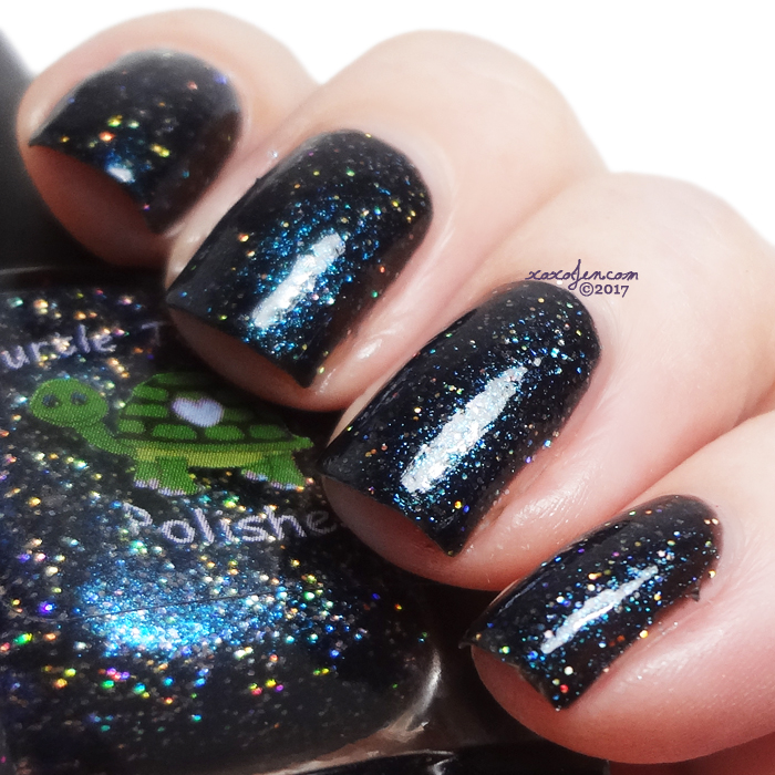 xoxoJen's swatch of Turtle Tootsie Polish Con Blues