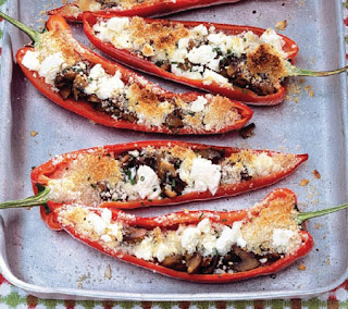 Stuffed Roasted Peppers Recipe