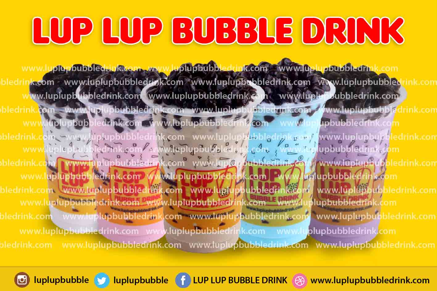 Franchise Bubble Drink Lup Lup