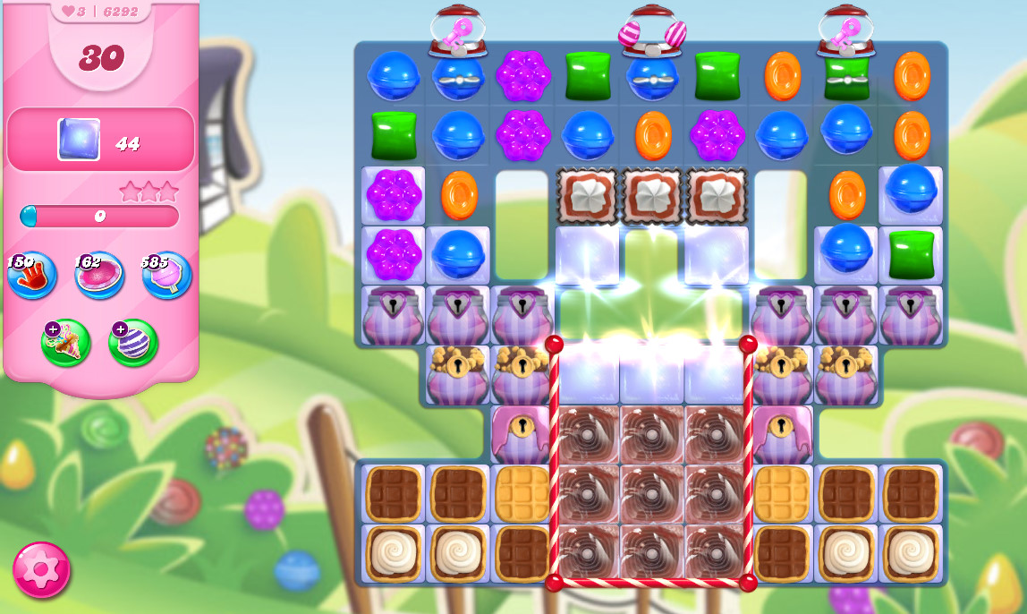 Candy Crush Saga level 6292