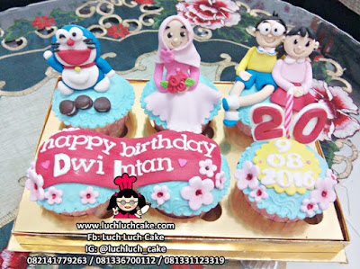 Birthday Cupcake Doraemon