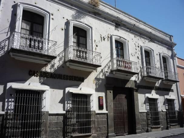 Fachada del Museo de la Revolución Mexicana en Puebla