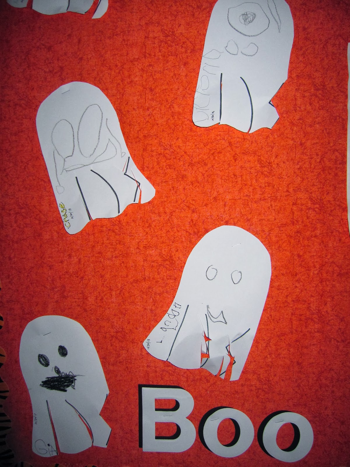 Preschool For Rookies Happy Halloween Ghost Fine Motor