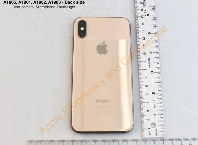 FCC Filings Confirmed That Apple Original Has The Plan To Release iPhone X In Gold Finish