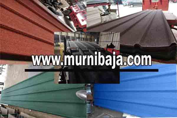 Jual Atap Spandek Pasir di Maluku Utara - Harga Murah Berkualitas