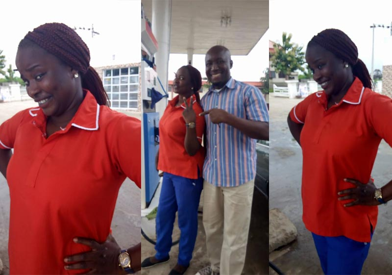 Efe Okposio narrates how beautiful fuel attendant returned his lost 30k