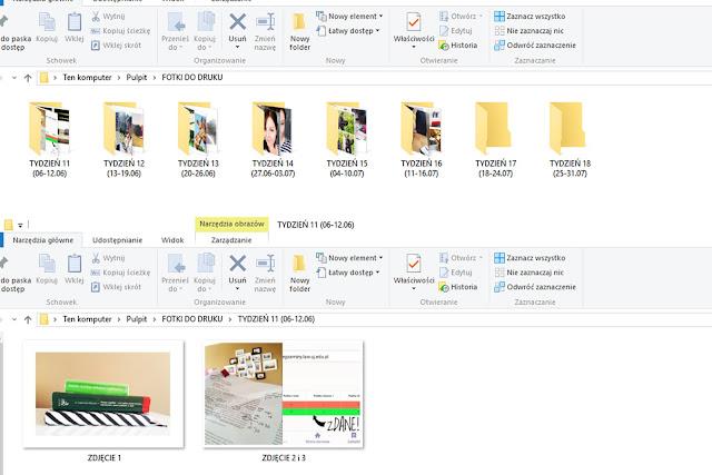 Katalogowanie zdjęć do wywołania
