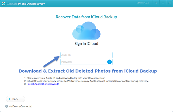 How to Recover Deleted Old Photos from iCloud Backup