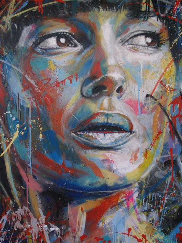 Уличный художник Дэвид Уокер (David Walker) 9