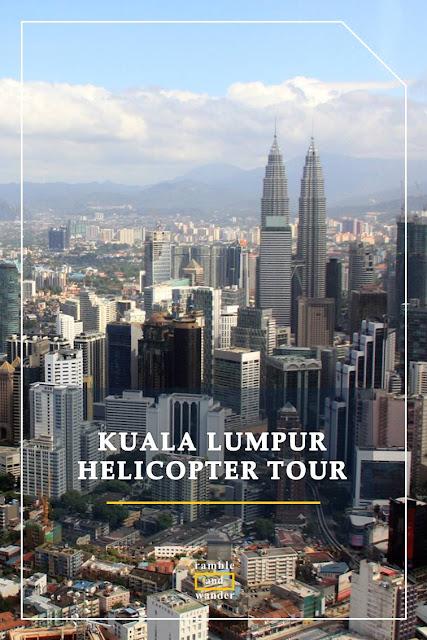 Malaysia: Kuala Lumpur Helicopter Tour - Ramble and Wander