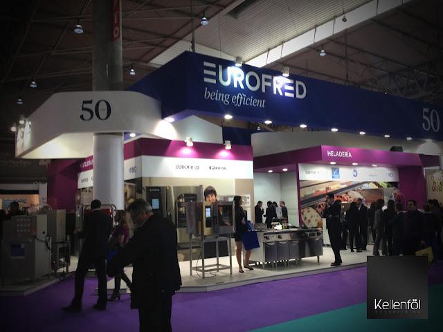 Eurofred Stand Eurofred Alimentaria Eurofred agencia de publicidad creativa Kellenföl Advertising.