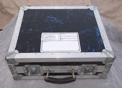 Image of small flight case top view