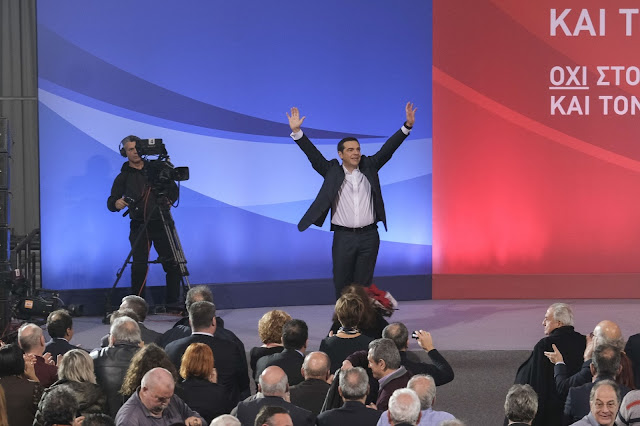 Ο εκνευρισμός Τσίπρα για τις Πρέσπες και οι ελληνικές σημαίες