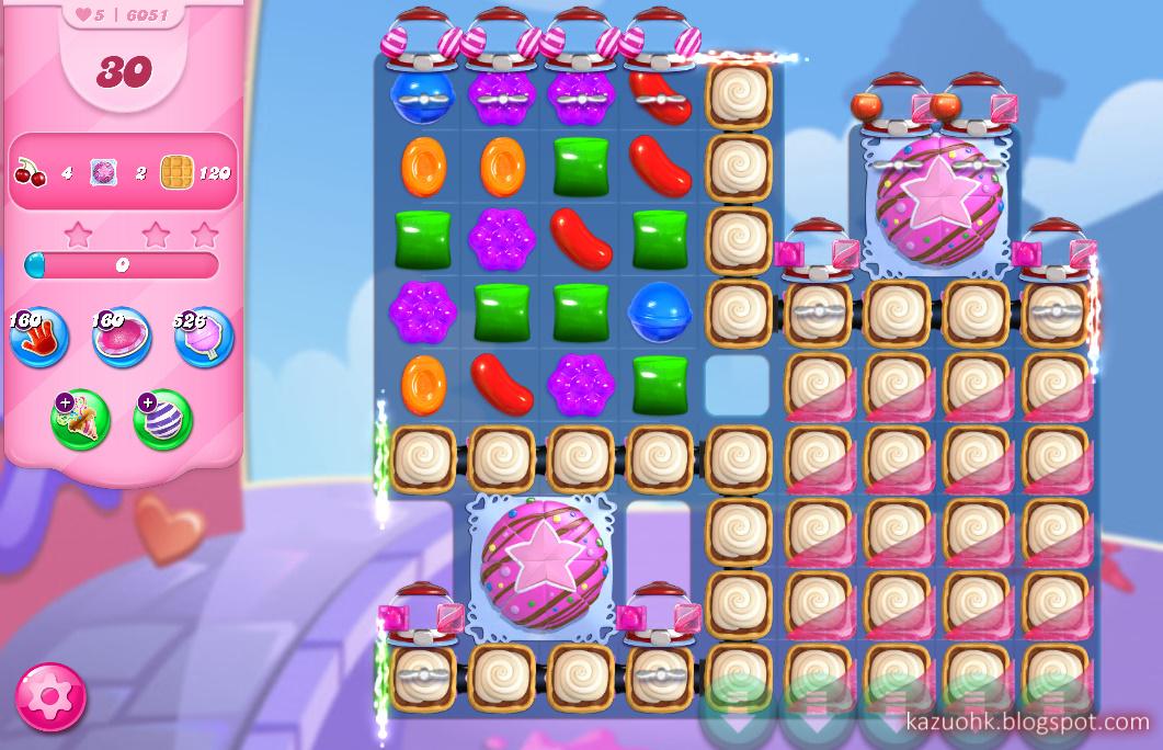 Candy Crush Saga level 6051