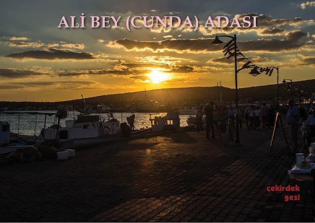 ALİ BEY (CUNDA) ADASI