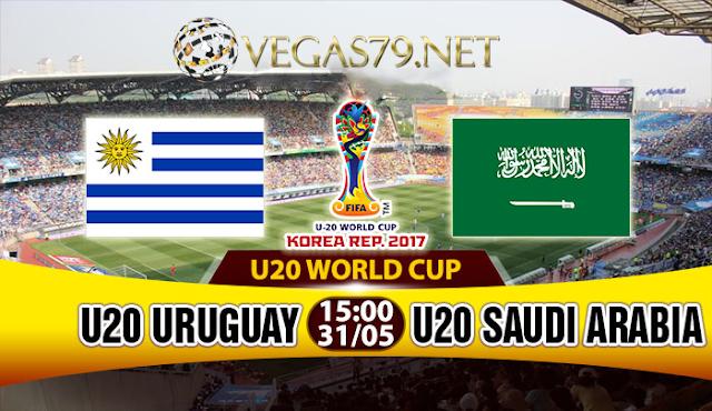 Nhận định, soi kèo nhà cái U20 Uruguay vs U20 Saudi Arabia