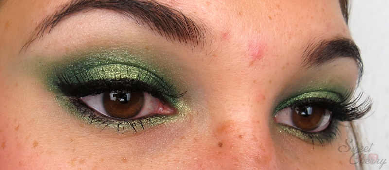 Look Battle St. Patrick's Day Make-up Look