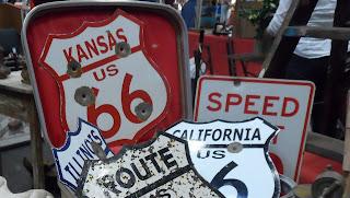 Señales de la ruta 66