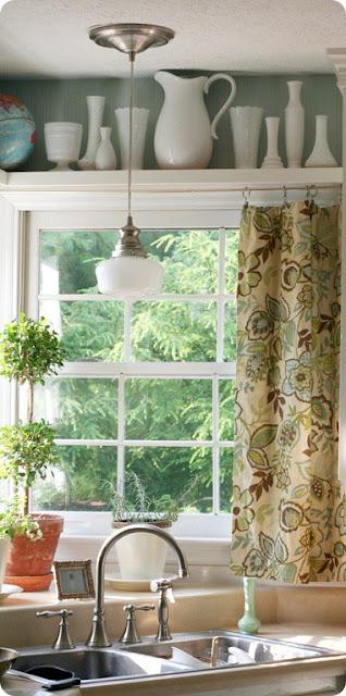 The Deco Blog Kitchen Window Curtains 101