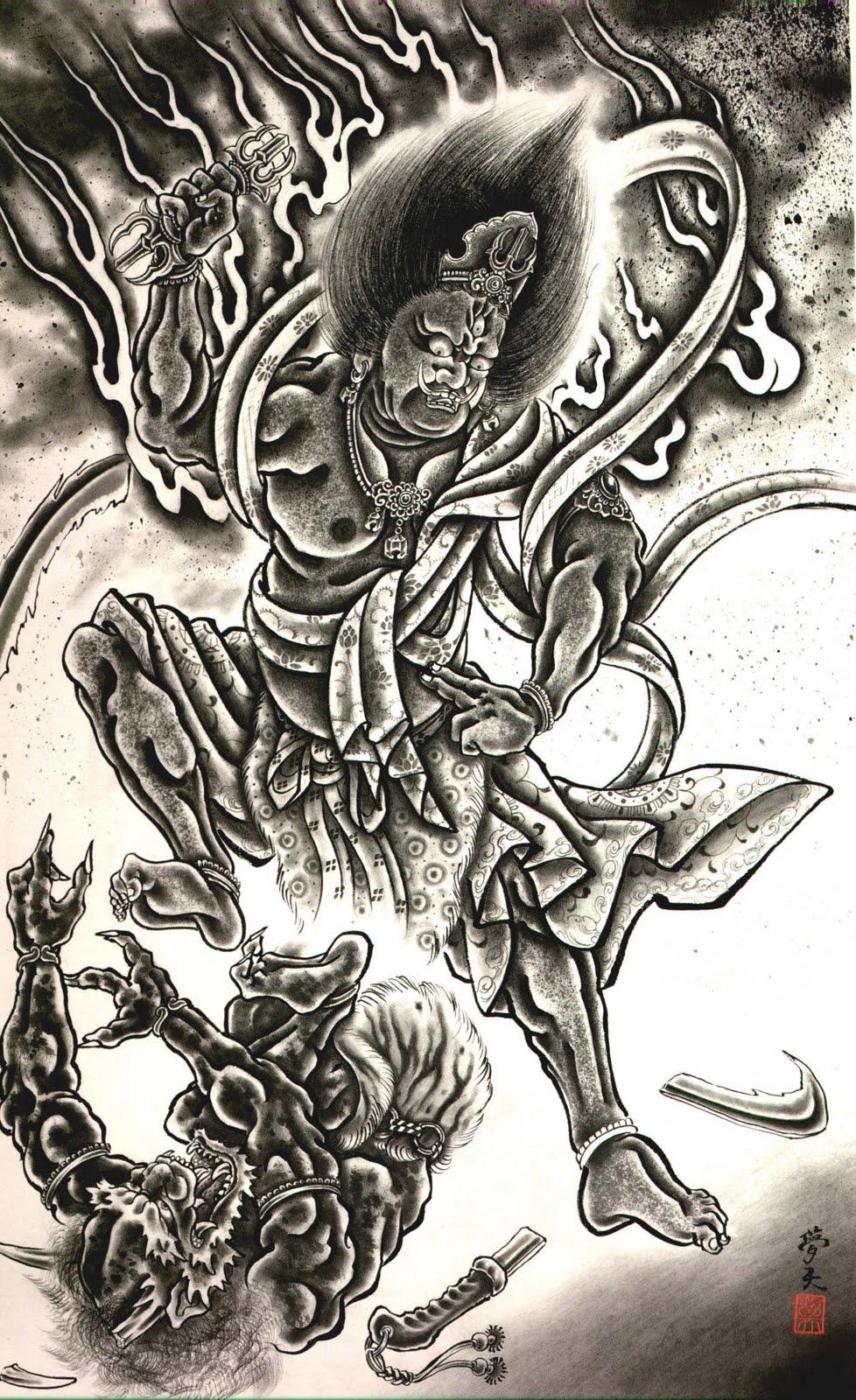Demon Tattoo Images & Designs |Demon Japanese Traditional Designs