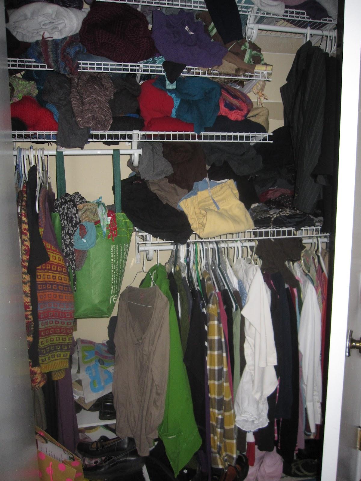 Conquering My Closet