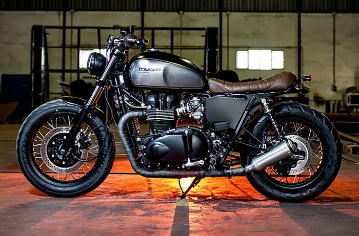 Motorcycle Modification Triumph Bonneville Motorcycle