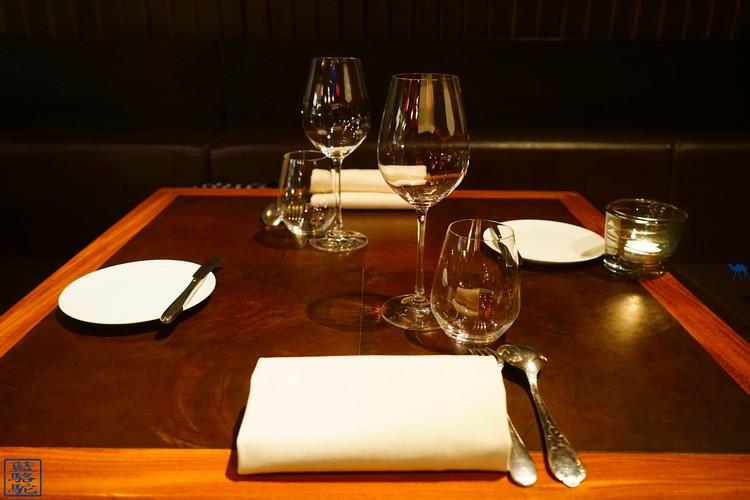 Le Chameau Bleu - Table du restaurant Volta à Ghent