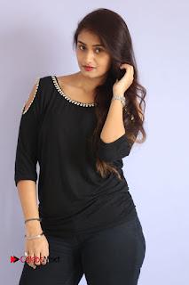 Actress Kiran Chetwani Pictures in Black Jeans at Lakshmidevi Samarpinchu Nede Chudandi Platinum Disc Function  0050.JPG