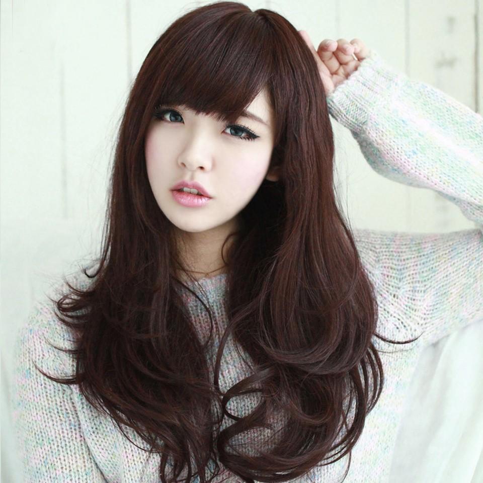 Những kiểu tóc dài xinh kiêu cho con gái