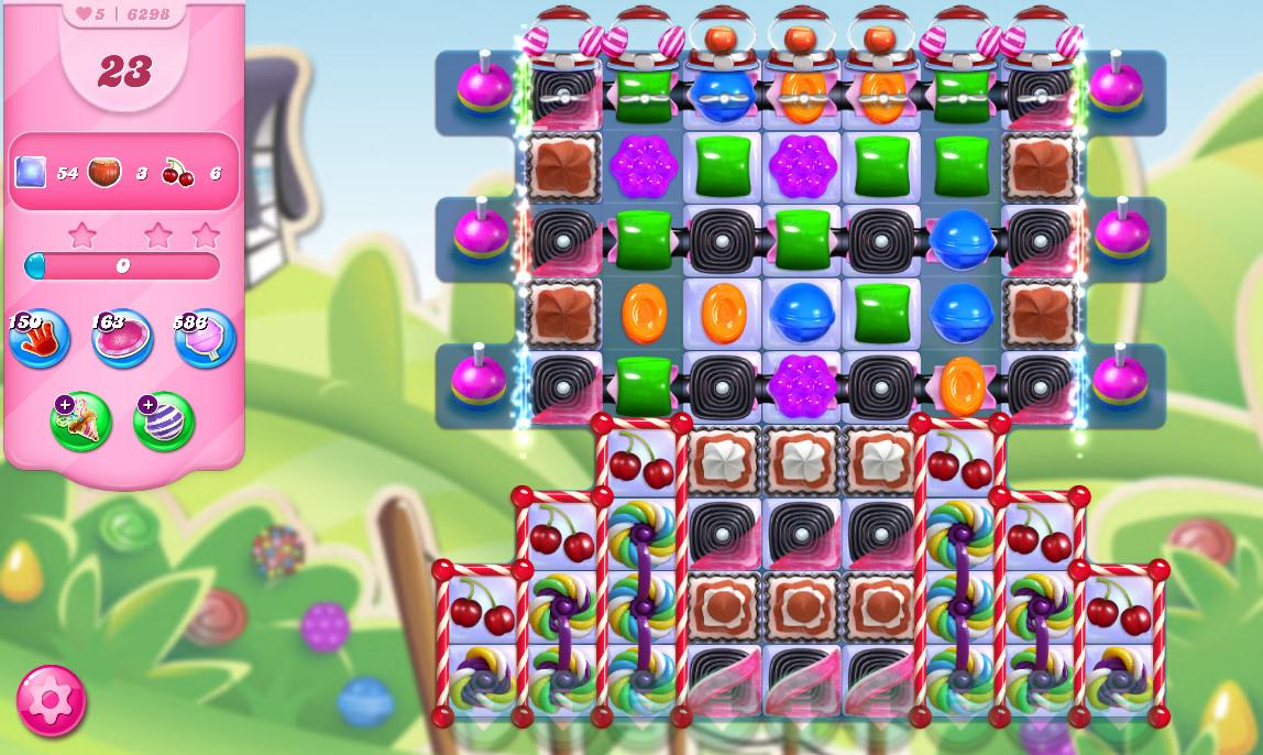 Candy Crush Saga level 6298