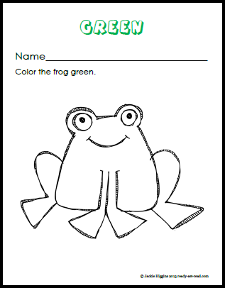 Color Brown Worksheets Sketch Coloring Page