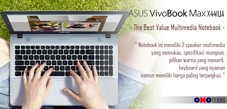 "THE BEST 10 NOTEBOOK ASUS 2017 "" ASUS VIVOBOOK MAX X441UA """