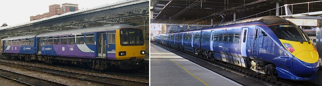 Northern Rail Pacer and Southeastern Javelin