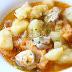 Sorropotún, otra marmita con bonito del norte deliciosa. Receta