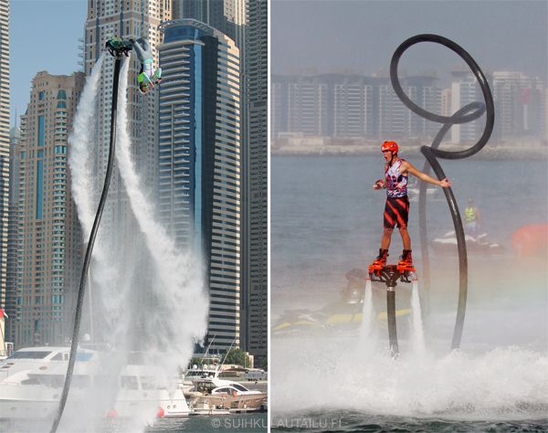 suihkulautailu, flyboard, flyboarding, jetboard, jetboarding, hydroflight sports